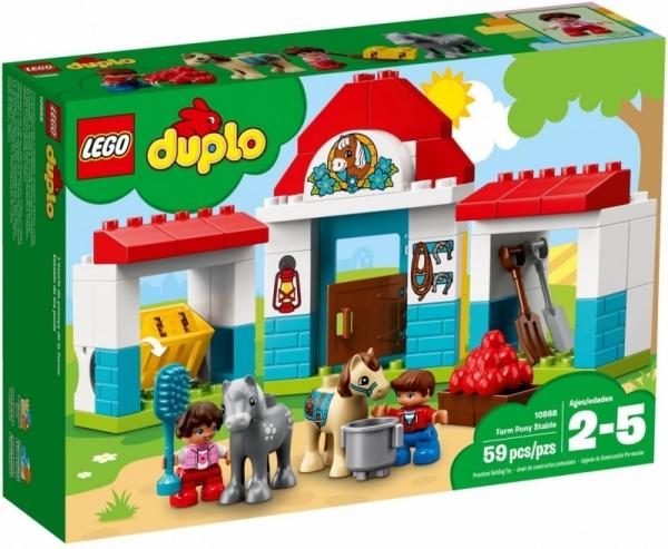 Lego Duplo: Stajnia z kucykami (10868)