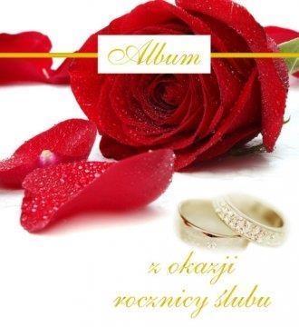 Album z okazji rocznicy ślubu