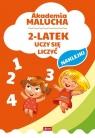 Akademia malucha 2-latek uczy się liczyć
