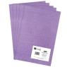 Filc poliestrowy A4, 5 szt. lilac (DPFC-010)