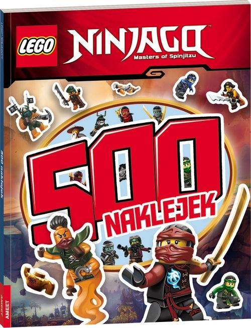 Lego Ninjago 500 naklejek (LBS-702)