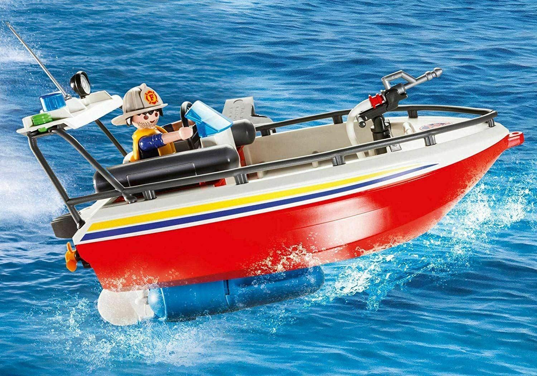 Playmobil City Action: Misja ratownicza straży pożarnej (9319)