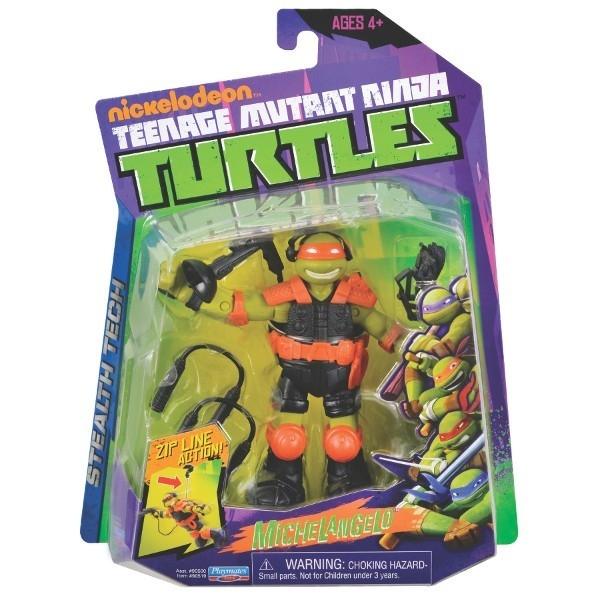 TURTLES Żółwie Ninja Fig . Tech Mike