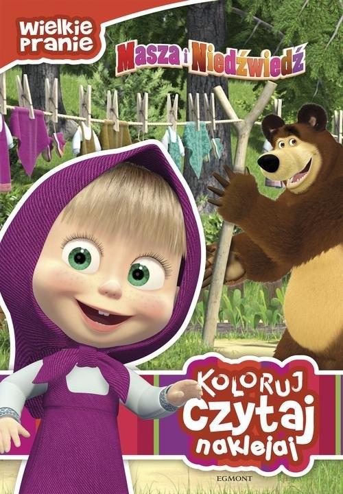 Masza i Niedźwiedź Wielkie pranie