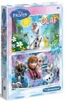 Puzzle 2x60 Frozen (07119)
