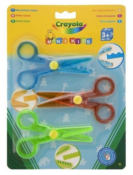 Nożyczki Crayola 3 wzorki (81-8119)