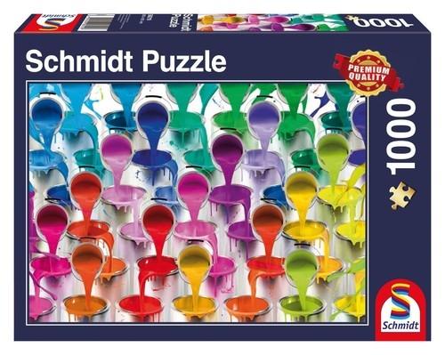 Puzzle Kolorowy wodospad 1000 el.