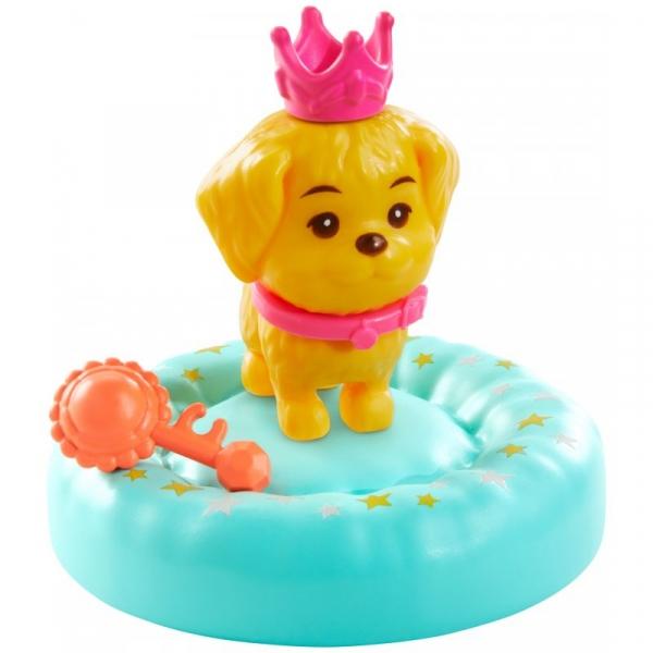 Barbie: Baśniowe Przedszkole - Lalka Księżniczka ze smokami i szczeniakiem (GJK49/GJK51)