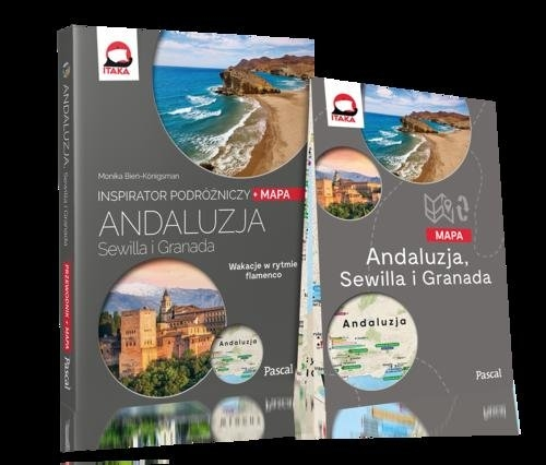 Andaluzja, Sewilla i Granada INSPIRATOR PODRÓŻNICZY (Uszkodzona okładka) Bień-Königsman Monika