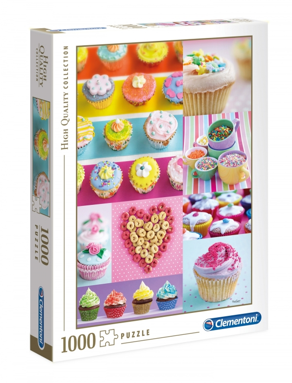 Puzzle 1000 High Quality Collection: Sweet Donuts (39419)