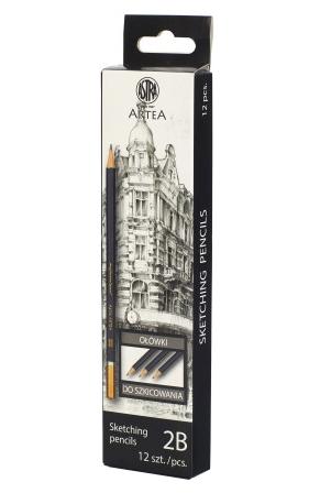Ołówek do szkicowania 2B Astra Artea (206118003)