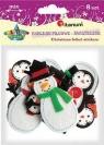 Naklejki filcowe świąteczne (307917)