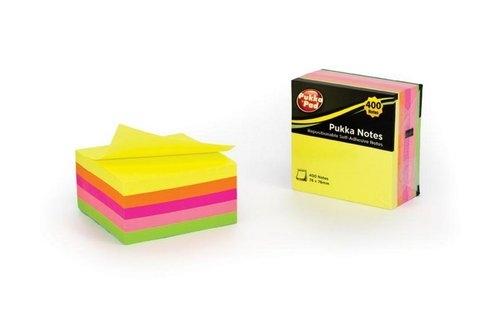 Karteczki Notes Pukka Pad kostka 76x76 400 sztuk