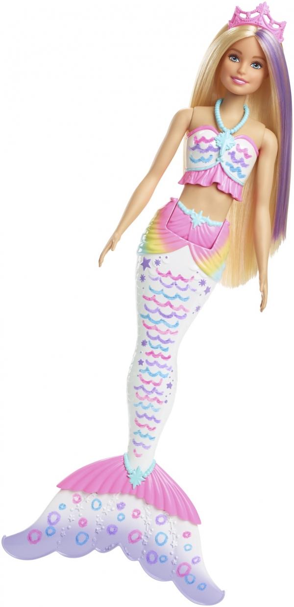 Lalka Barbie Syrenka Kolorowa Magia