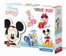 Puzzle SuperColor 4w1: My First Puzzles - Disney baby (20819)