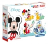 Clementoni, moje pierwsze puzzle SuperColor 4w1: Disney baby (20819)