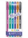 Długopis żelowy Metallic - 6 kolorów