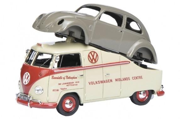 Volkswagen T1a Midlands Centre with Volkswagen Brezelkafer (450901900)