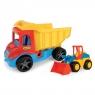 Multi Truck - Wywrotka 38 cm z koparką (32240)Wiek: 1+