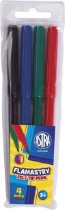 Flamastry Astra 4 kolory