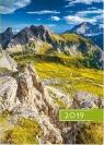 Kalendarz 2019 B6 Kolorowy góry