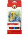 Kredki akwarelowe 3718/K - 24 kolory
