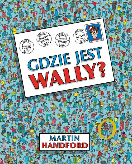 Gdzie jest Wally? (Uszkodzona okładka) Handford Martin