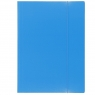 Teczka kartonowa na gumkę VauPe Eco A4 - niebieska (319/19)
