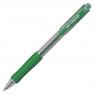 Długopis z wymiennym wkładem Uni SN-100, zielony
