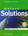 Matura Solutions Elementary Student's Book