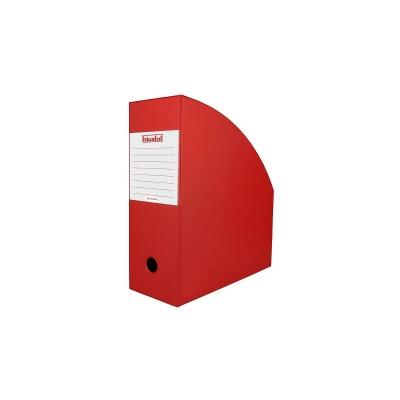 Pojemnik na dokumenty pionowy Biurfol 11 cm A4 - czerwony (SE-37-07)