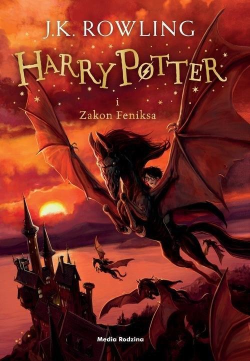 Harry Potter i Zakon Feniksa. Tom 5 Rowling Joanne K.