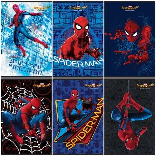 Zeszyt Spider-Man A5 Kratka 5mm /10szt