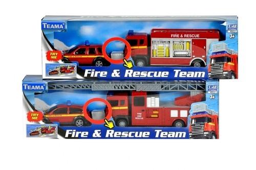 Straż pożarna 1:48 czerwona