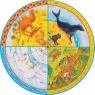Puzzle XXL: zwierzęta - okrągłe (57719)