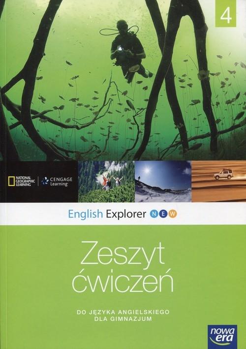 English Explorer New 4. Zeszyt ćwiczeń do języka angielskiego dla gimnazjum Bailey Jane, Stephenson Helen