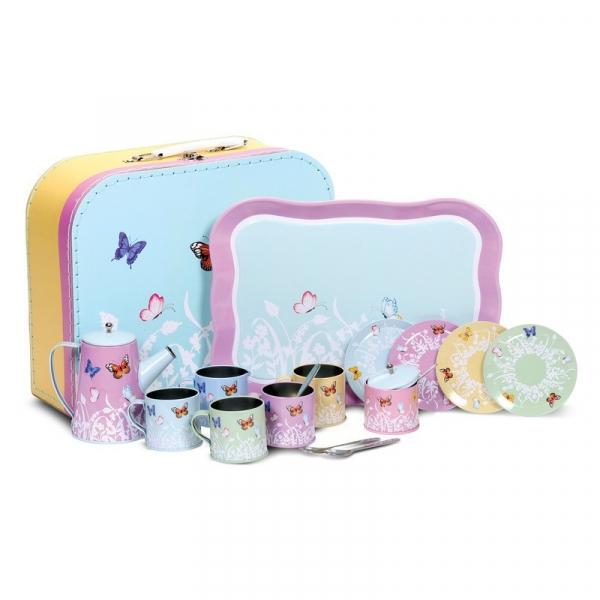 Zestaw do herbaty dla lalek Butterfly