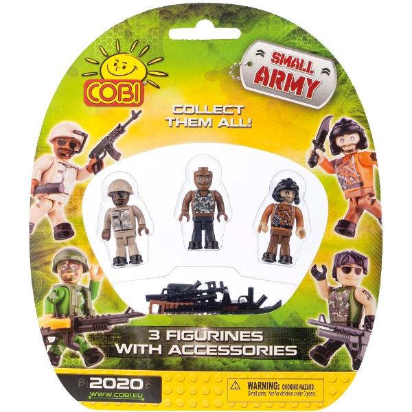 COBI Small Army 3 Figurki z Akcesoriami (2020)