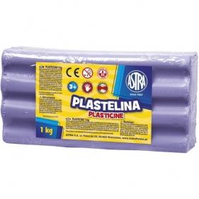Plastelina Astra, 1kg fioletowa jasna (303111011)