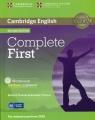Complete First Workbook without Answers z płytą CD Thomas Barbara, Thomas Amanda