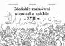 Gdańskie rozmówki niemiecko-polskie z XVII w. Volckmar Nicolaus, Kizik Edmund, Apoleika Maria
