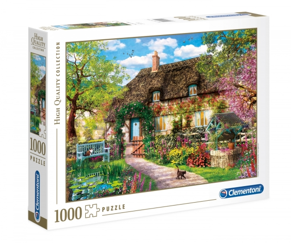 Puzzle 1000 High Quality Collection: Stary domek na wsi (39520)