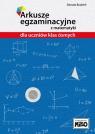 Arkusze egzaminacyjne z matematyki dla uczniów klas ósmych.