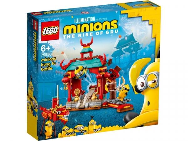 Klocki Minions Minionki i walka kung fu (75550)