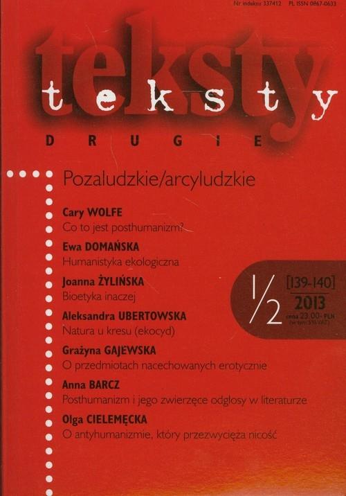Teksty drugie 1-2/2013