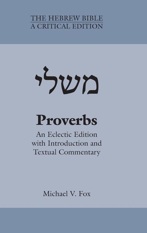 Proverbs Fox Michael V.