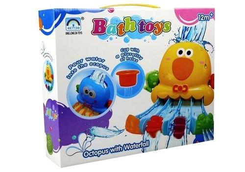 Zabawka do kąpieli Ptaszek + kubeczki