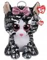 Ty Fashion Sequins cekinowy plecak Kiki - kot (TY 95020)