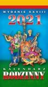 Kalendarz 2021 Rodzinny zdzierak