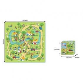 Mata z puzzli - farma, 9 elementów